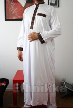 Djellaba homme Quraish manches longues