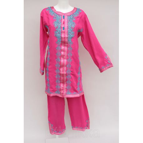 Ensemble tunique orientale