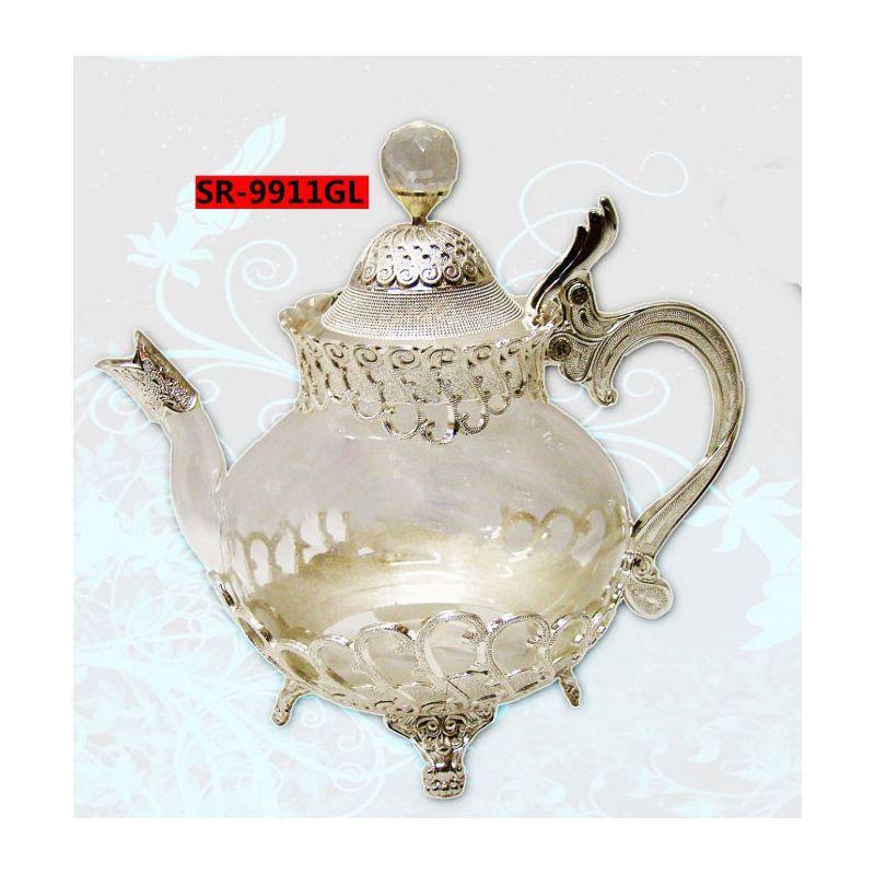 Acheter une theiere marocaine pas cher - Services à thé - Ethnikka.fr