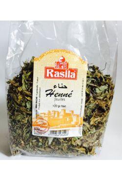 Henné naturel en feuille - Rasila