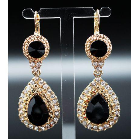 Boucles d'oreilles bijoux orientaux en plaqué argent