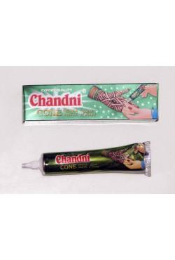 Tube henné indien tatouage main Chandni