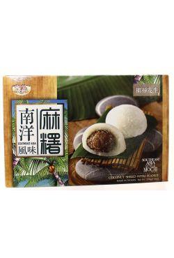 Mochi à la noix de coco et cacahouètes Gateau de riz