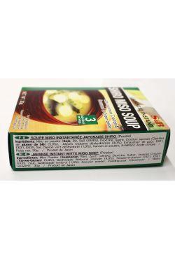Shiro Miso Soup à l'algue,oignons verts et croutons