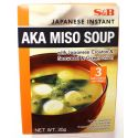 Soupe japonaise à l'algue et oignons vert