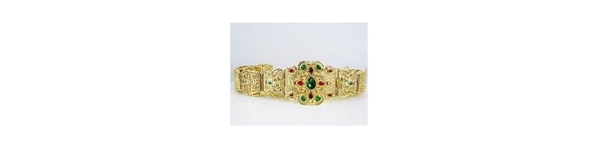 Acheter ceinture en plaqué or bijoux berberes, Bijoux Orientaux en ... 554096c20ca