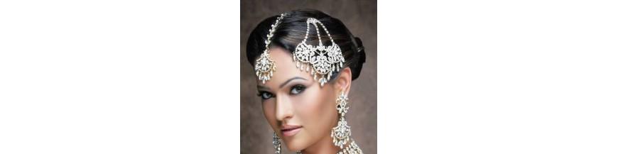 couronne et bijoux de tte - Bijoux De Tete Mariage Oriental