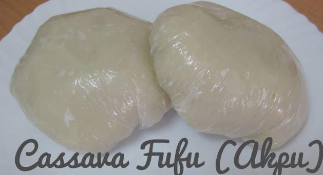 fufu manioc