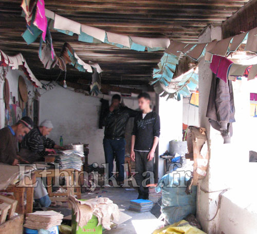 babouche marocaine fabrication