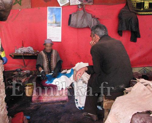 tannerie pour babouches fabricant pour Ethnikka.fr