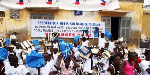 Partenariat ethnikka.fr et Solidarité Amitié Médina